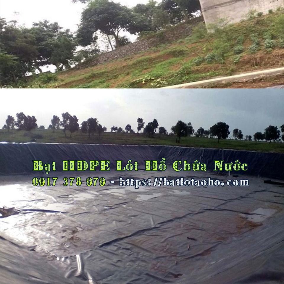 Bạt Lót Hồ Chứa Nước HDPE Giá Rẻ, Bạt Lót Hồ Chứa Nước Tại Lâm Đồng Bảo Lộc,Màng Bạt HDPE Chống Thấm