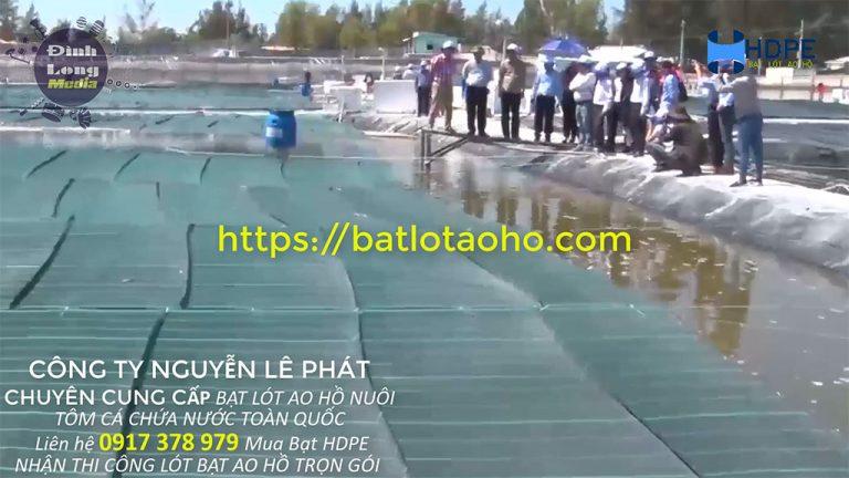 Cung Cấp Bạt HDPE Lót Hồ Nuôi Tôm Tại Ninh Bình