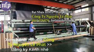 Màng Bạt Nhựa HDPE Lót Ao Hồ 0,75mm, 1mm, 1.5mm, 2mm