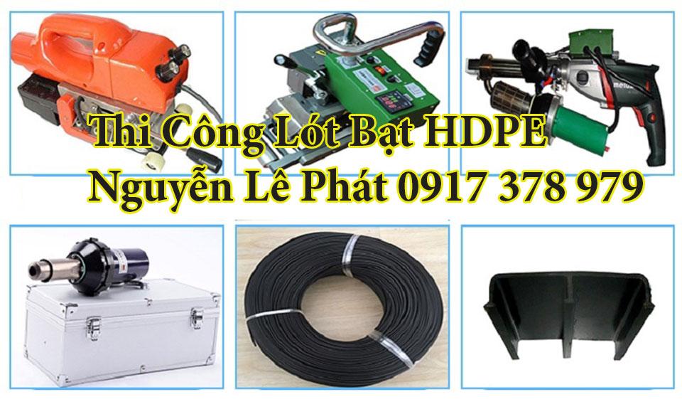 Nhận thi công lót bạt màng chống thấm HDPE giá rẻ